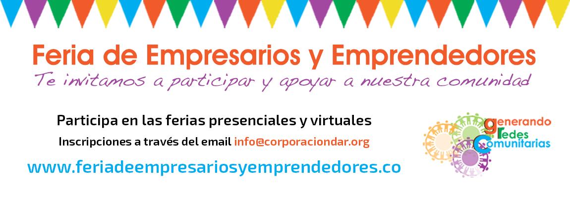 Visita y apoya a los empresarios y emprendedores feriadeempresariosyemprendedores.co