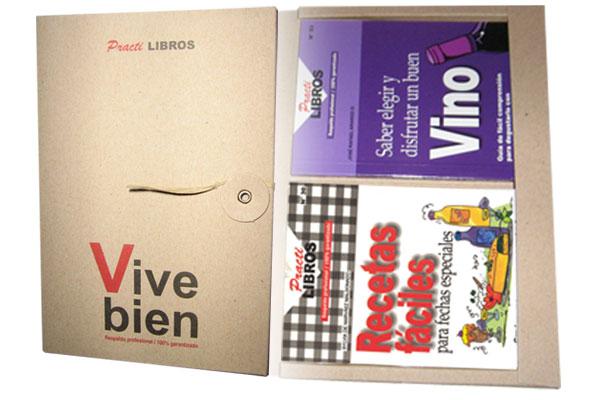 Kit de 4 Practilibros con más de 50 títulos para que escoja el que mas le guste realizados por AunoA Editores