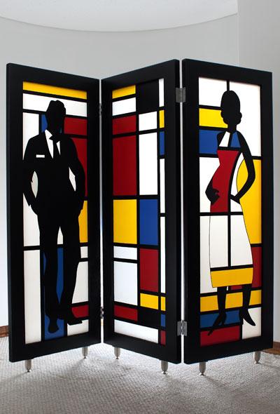 Muebles que son obras de arte por la artista Julieta Echeverri
